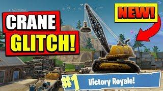 'NEW' CRANE GLITCH à Fortnite: Battle Royale! (BRISEUR DE JEU)