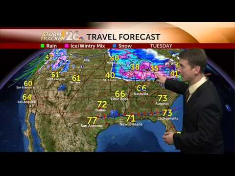Augusta, GA weather forecast - 02/18/2014 - YouTube