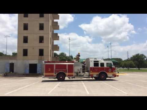 DEck Gun operation Engine 2 - 1-3/8 tip 500Gpm - video 1