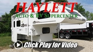 HaylettRV.com - 2005 Lance 1161 Used Truck Camper with Slide Out