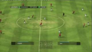 FIFA 09 (PS3) ULTIMATE TEAM FIRST GAME