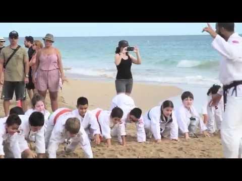 """Jujitsu Family """"En la Playa"""" Verano 2016"""