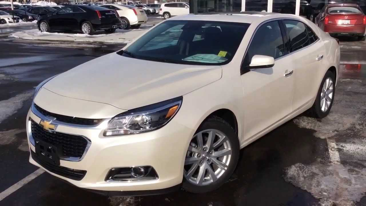 New 2014 Chevrolet Malibu LTZ Review ST140179 YouTube