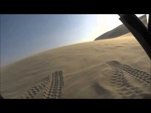 Quad driving in qatar (sealine)