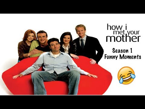 HIMYM | Season 1 Funny Moments Part 1