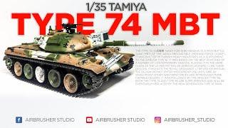 Tamiya 35168 JGSD Force Type 74 Tank Winter Version 1//35