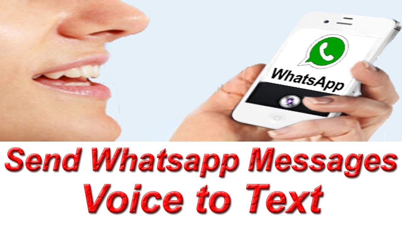 Send Whatsapp Messages Voice to Text in any Language ! Type Whatsapp  Messages Speech to Text