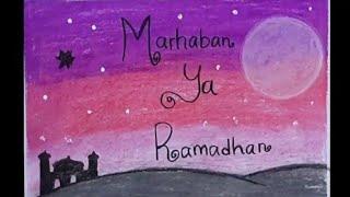 MENGGAMBAR POSTER MARHABAN YA RAMADHAN PART 3