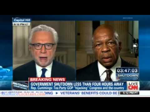 Elijah Cummings: Tea Partyy has hijacked GOP and is holding America hostage