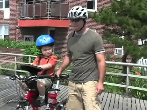 WeeRide Classic Front Mounted Childrens Safest Bike Seat