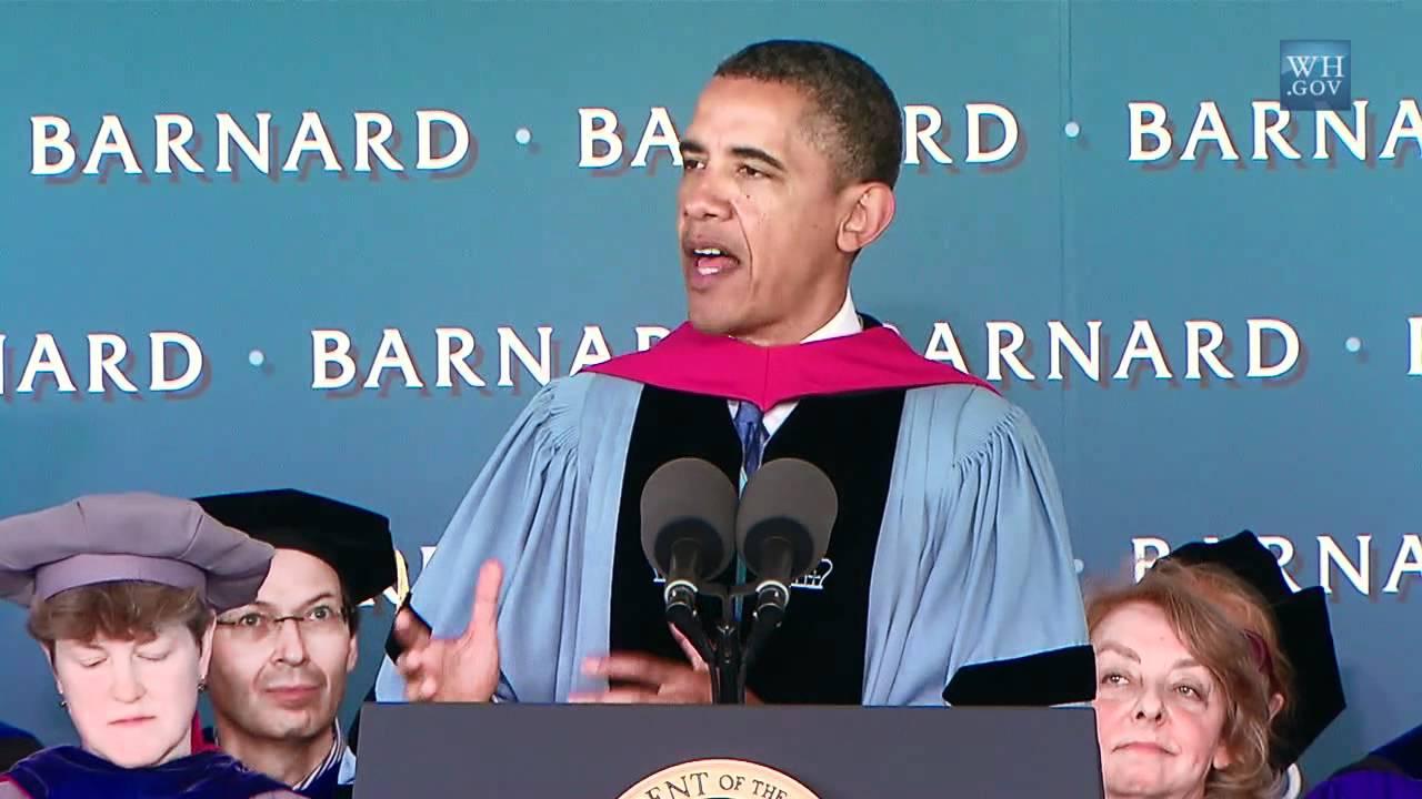 Barnard Graduation 2020.Barack Obama At Barnard Commencement Address Transcript Time