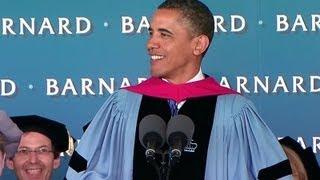 President Obama Speaks at Barnard College Commencement Ceremony