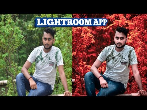 How to edit moody red effect in Lightroom | Lightroom photo editing tutorial. thumbnail