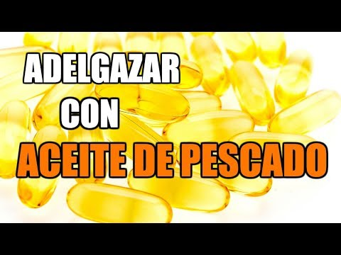 El omega-3 ayuda a adelgazar