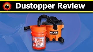 Dustopper Review, and comparison with a Dust Deputy