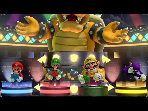 Mario Party 10 - Bowser Party Mode - Chaos Castle (Master Difficulty/Team Bowser)