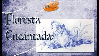 Floresta Encantada - Criando um Gnomo vovô - Curso de desenho online da IPStudio