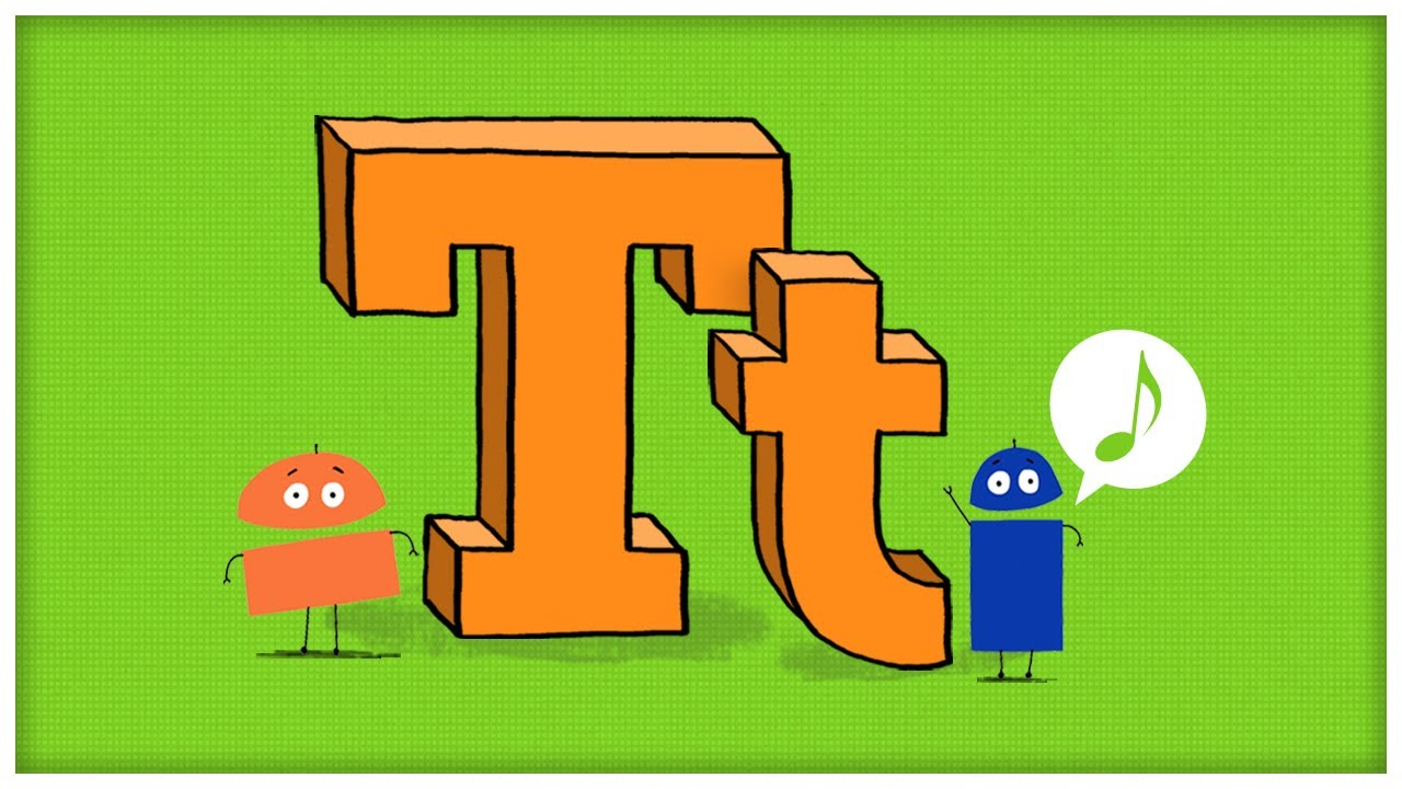 Abc Song  The Letter T   U0026quot Time For T U0026quot  By Storybots