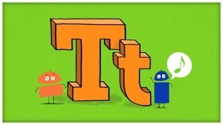 """ABC Song: The Letter T, """"Time For T"""" by StoryBots 