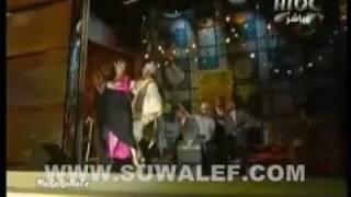 رقص غادة عبدالرازق في برنامج ابشر