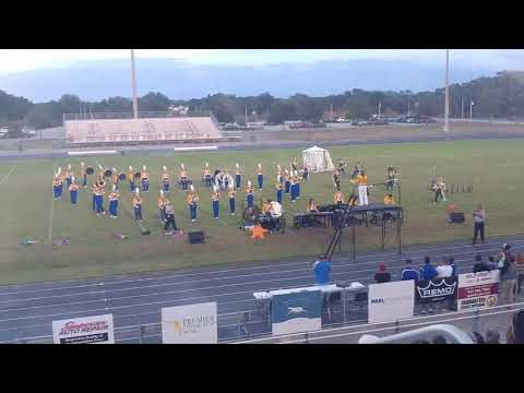 Largo HS Band of Gold Playing at Braden River HS 10/14/2017