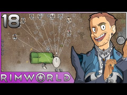 Rimworld - #18 - Psychic Ships and Cargo Pods!