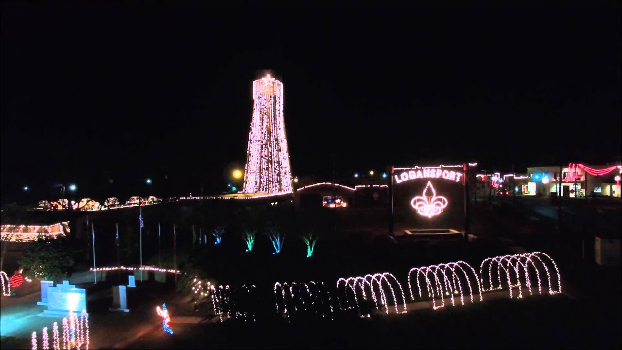the spirit of christmas on the sabine river in logansport louisiana light drawing
