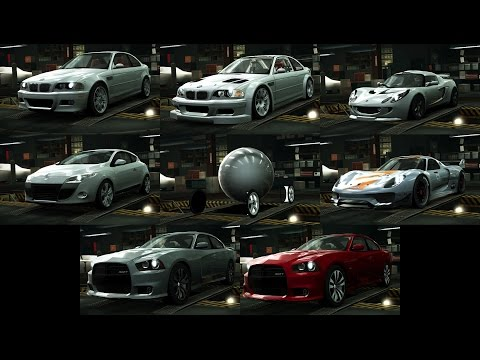 NFS World - Removed Cars