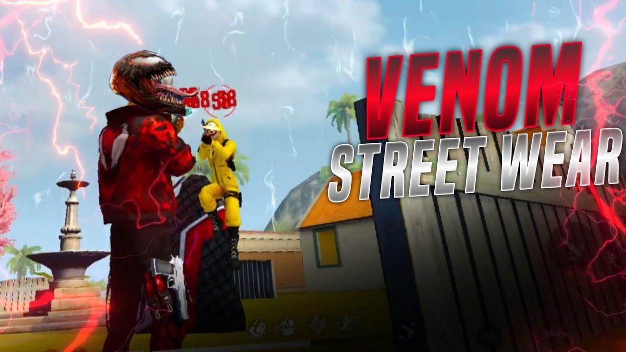 Insane 1VS2 Gameplay With Venom Street- Wear Bundle    FF X Venom    Embrace The Chaos !!