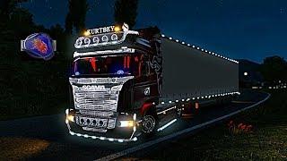 ???? Euro Truck Simulator 2 Gruba Impreza  Rozdaje DLC ! #NAŻYWO - Na żywo