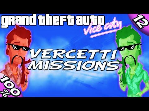 GTA Vice City [:12:] ALL Tommy Vercetti Estate missions [100% Walkthrough]
