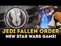 NEW Star Wars Game Jedi Fallen Order REVEALED! Exciting New Details from Respawn Entertainment!