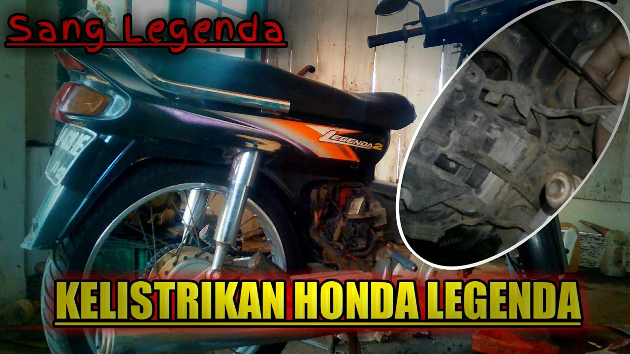 Kelistrikan Honda Astrea Legenda