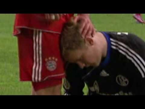 DFB-Pokal Halbfinale (Robben krault Neuer)  FC Schalke 04 - Bayern München 0:1 n.V. 112min