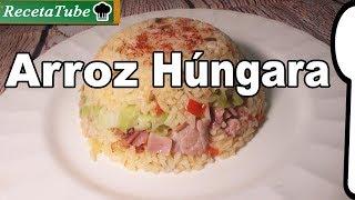 Como hacer Arroz a la húngara Receta Rica y Fácil