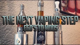 One of GrimmGreen's most viewed videos: TAKING THE NEXT VAPING STEP 2:  EGO'S TO MODS