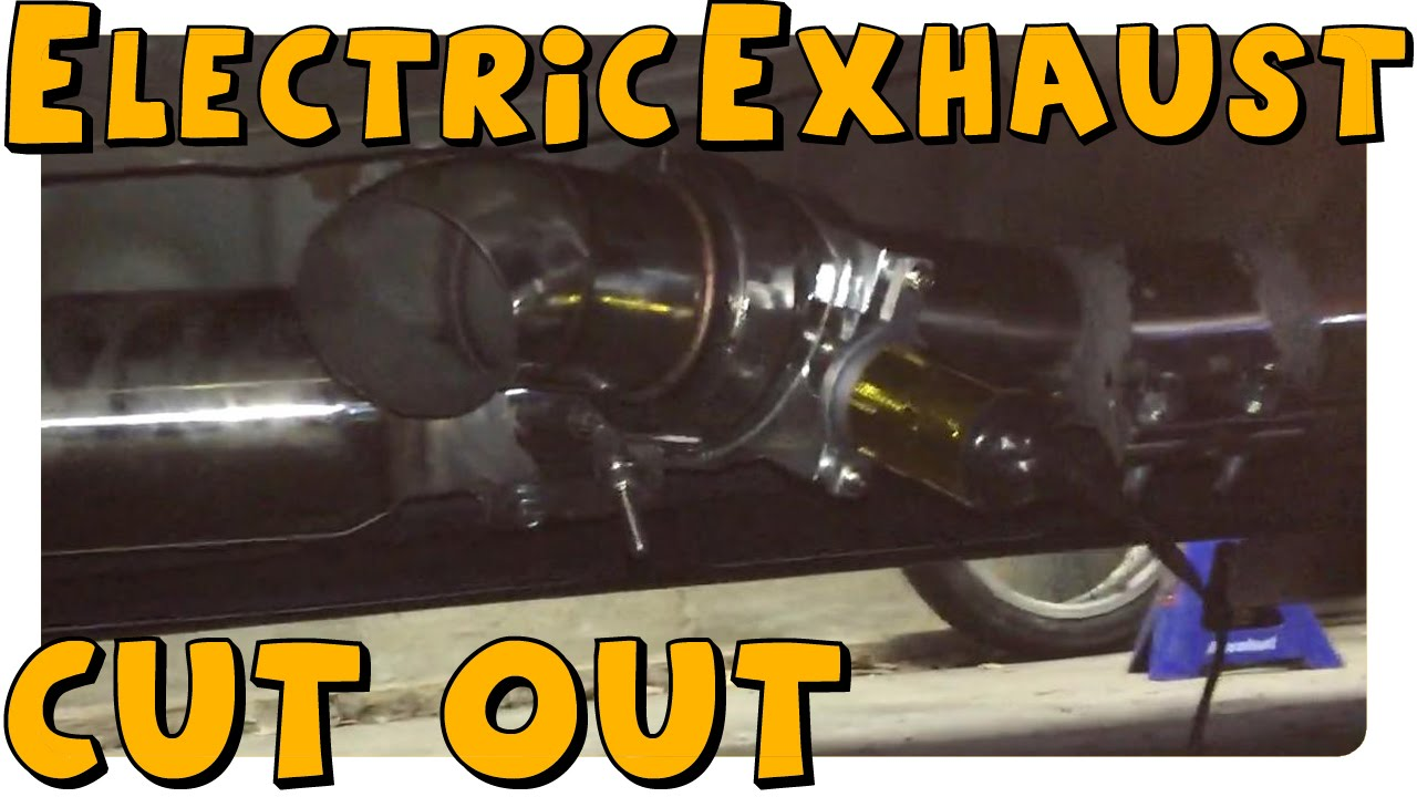 maxresdefault diy installing electric exhaust cut out '04 stage 3 wrx youtube qtp exhaust cutout wiring diagram at n-0.co