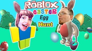Easter Egg Hunt Roblox Edition! Finding eggs in Roblox Minigames Scavenger Hunt! Googaloo Gaming