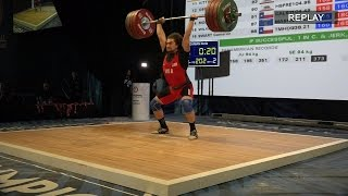 Norik Vardanian Dominates At Olympic Team Trials For Weightlifting