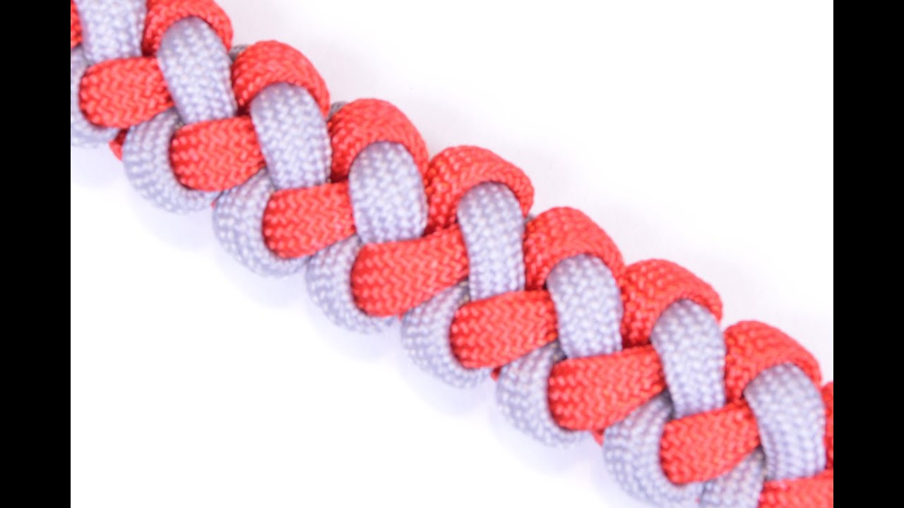 0b3b6a666ab62 How to Make the Zipper Sinnet Paracord Survival Bracelet - BoredParacord