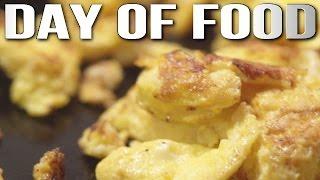 Full Day of Food! (Egg Recipe, LP & More)
