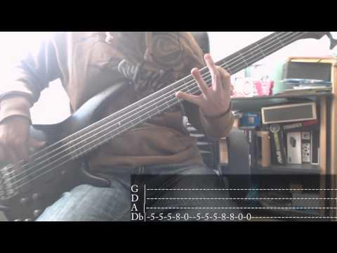 Nu Metal's week - 06 - Deftones - My Own Summer (Shove It) [Bass Cover + Tab]