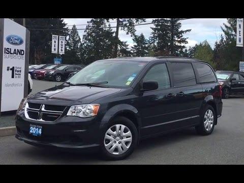 2014 Dodge Grand Caravan Sxt Stow N Go Seats Review Island Ford