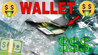 MONEY and WALLET in The TRASH! GAMESTOP DUMPSTER DIVE Night #601