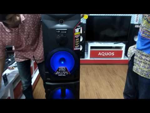 Speaker Aktive Sharp Cbox - Pro20 Ubb