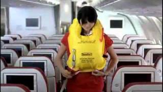 Kingfisher Airlines A330 safety Video