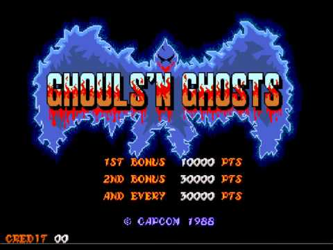 Ghouls'n Ghosts (Arcade) Music- Stage Four