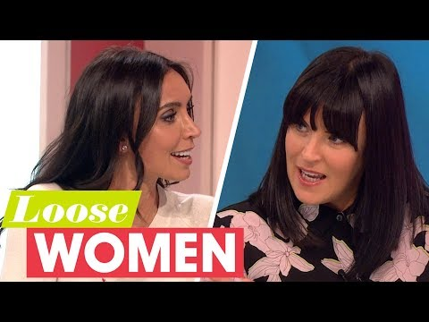 Anna Richardson and Christine Lampard Felt an Instant Connection With Their Partners  Loose Women