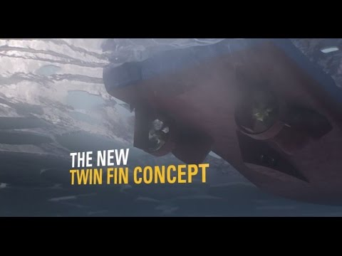 Twin Fin Propulsion System Delivers Better Performance