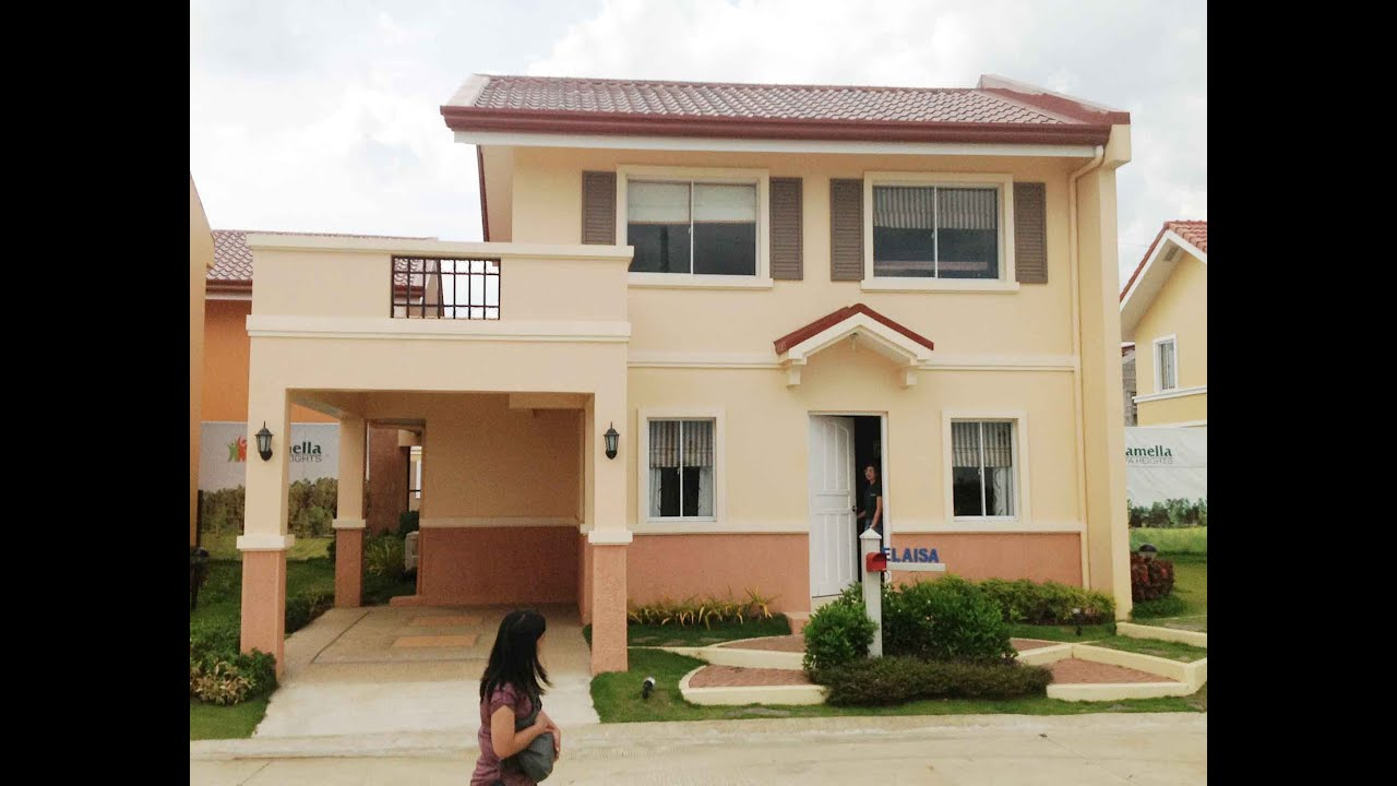 Elaisa house model lipa tanauan santo tomas taal for Interior house design of camella homes